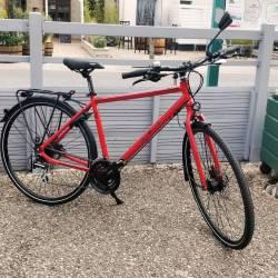 Vélo de Ville - Freins à dsques hydrauliques - Dérailleur 8v Acera