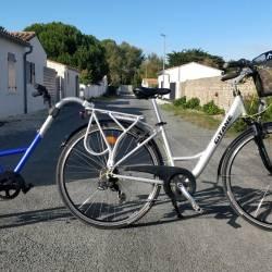Vélo Gitane + Suiveur