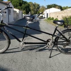 Vélo Tandem - 6 vitesses