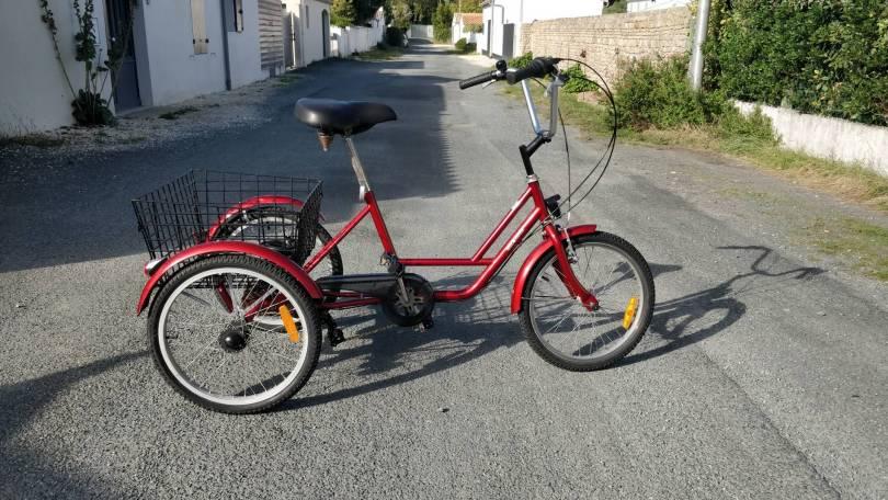 Vélo Tricycle - 6 Vitesses